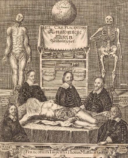 Casserio Anatomishce tafeln 1656