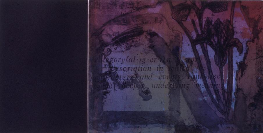 Allegory 1992 76 x 112 cm
