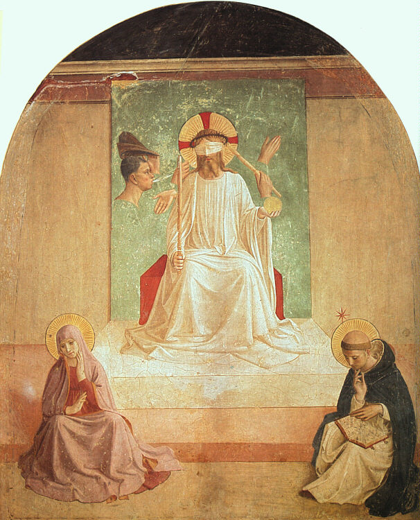 Fra Angelico, The Mocking of Christ